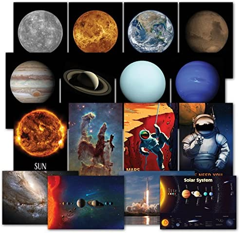 Solar System Poster Kit Telescope product image