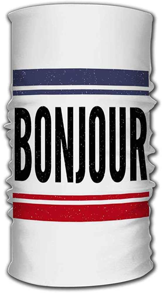 Headband Slogan Bonjour...
