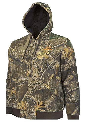 Realtree Men's Cotton Insulated Bomber Jacket (XX-Large)