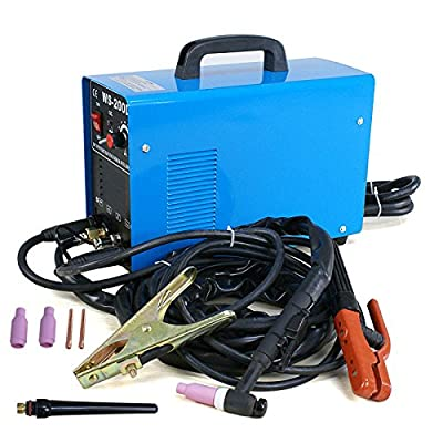 TIG/MMA DC Inverter AC/DC Stainless 200A WS-200D Welder Dual Voltage Brand New