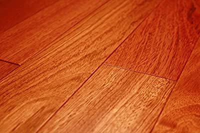 "Kingsport Brazilian Cherry Classic 3/8"" x 3-1/2"" Exotic Engineered Hardwood Flooring AF049 SAMPLE"
