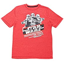 Star Wars Boys T-Shirt Ages 4-7 Stormtroopers The Force Awakens