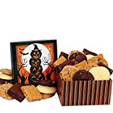GourmetGiftBaskets.com Halloween Gift Basket - Baked Goods Gift - Gourmet Gift Baskets Prime Delivery, Bakery Gift Basket, Chocolate Gift, Kosher Gift - Halloween Gifts