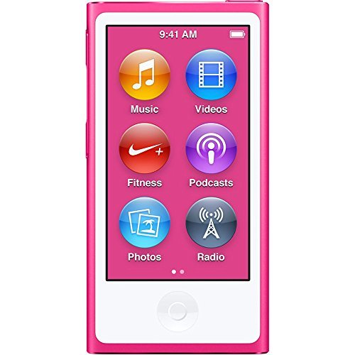 Apple iPod Nano 7th Generation 16GB Pink 3A655V/A by Apple