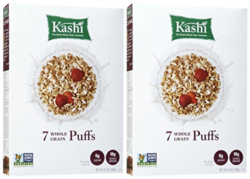 Kashi 7 Whole Grains Cereal Puffs - 6.5 oz. - 2 Pack ()
