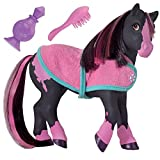 Breyer Color Changing Bath Toy, Jasmine the Horse, Black / Pink with Surprise White Color,  7
