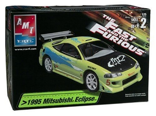 1/25 The Fast & the Furious Mitsubishi Eclipse Plastic Model Kit Mitsubishi Model Kit