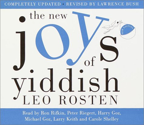 The New Joys of Yiddish: Completely Updated by Random House Audio