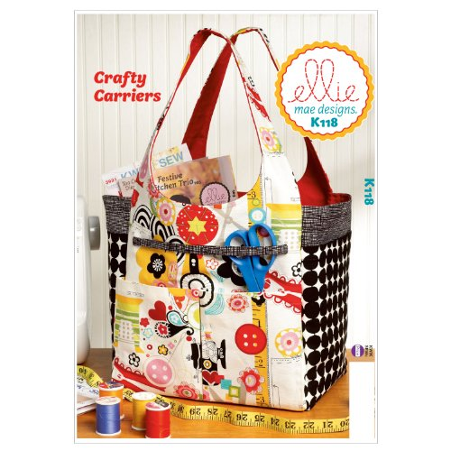 (Kwik Sew K0118 Crafty Carriers Sewing Pattern, One Size Only)