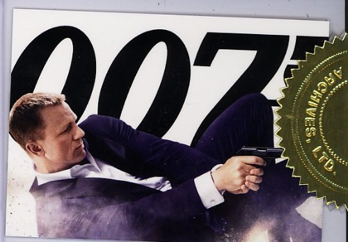 - James Bond 50 Anniversary Series 2 - Skyfall Movie Poster Card CT1 Case Topper Card #457/777