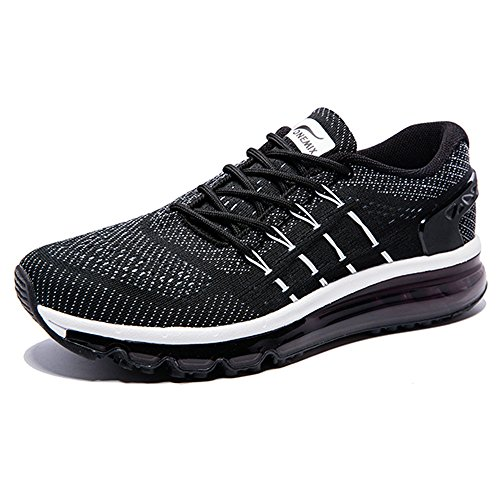 Mujer Atlético Correr Para Zapatos Onemix Blanco Gimnasio negro Adulto Air Hombre Respirable Unisex Mojadura 5UUqPSnH