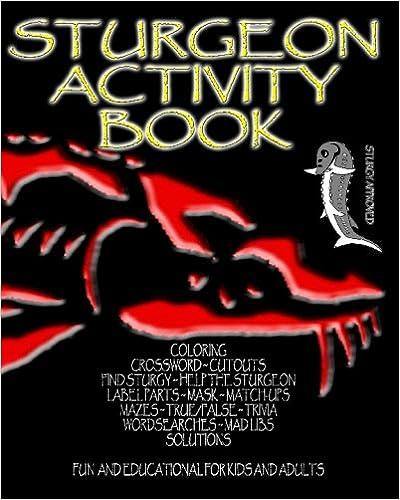 Sturgeon Activity Book