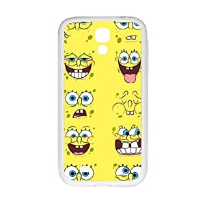 WAGT Disney particular Minions face Cell Phone Case for Samsung Galaxy S4