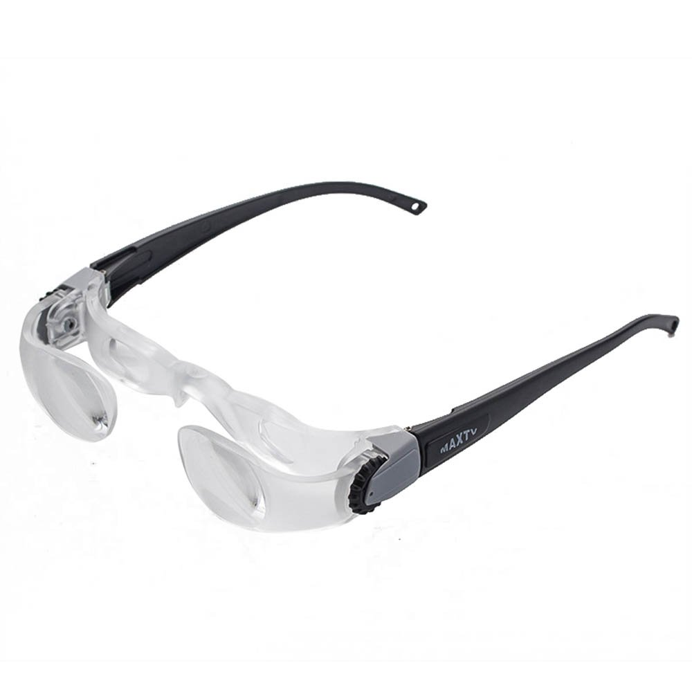 Holulo New Max TV Television Magnifying Glasses 2.1X 0 to +300 Degree Goggles Magnifier (Short-Sightedness)