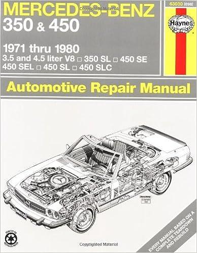 Mercedes benz 350 and 450 1971 80 haynes repair manuals haynes mercedes benz 350 and 450 1971 80 haynes repair manuals 1st edition fandeluxe Images