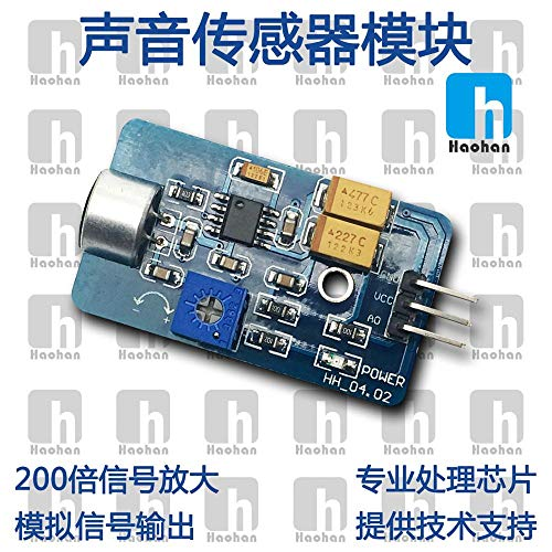 Lysee Sound Sensor Module Microphone Sensor Module Microphone Sensor Module Analog Audio Output