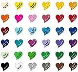 Diuangfoong Rat Hands Heart Sticker K038 8 Inch
