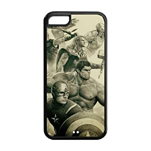 the Case Shop- Avengers Super Hero TPU Rubber Hard Back Case Silicone Cover Skin for iPhone 5C , i5cxq-794