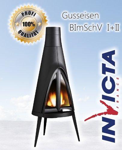 Diseño de hierro fundido estufa de leña INVICTA POW-WOW - 14kW