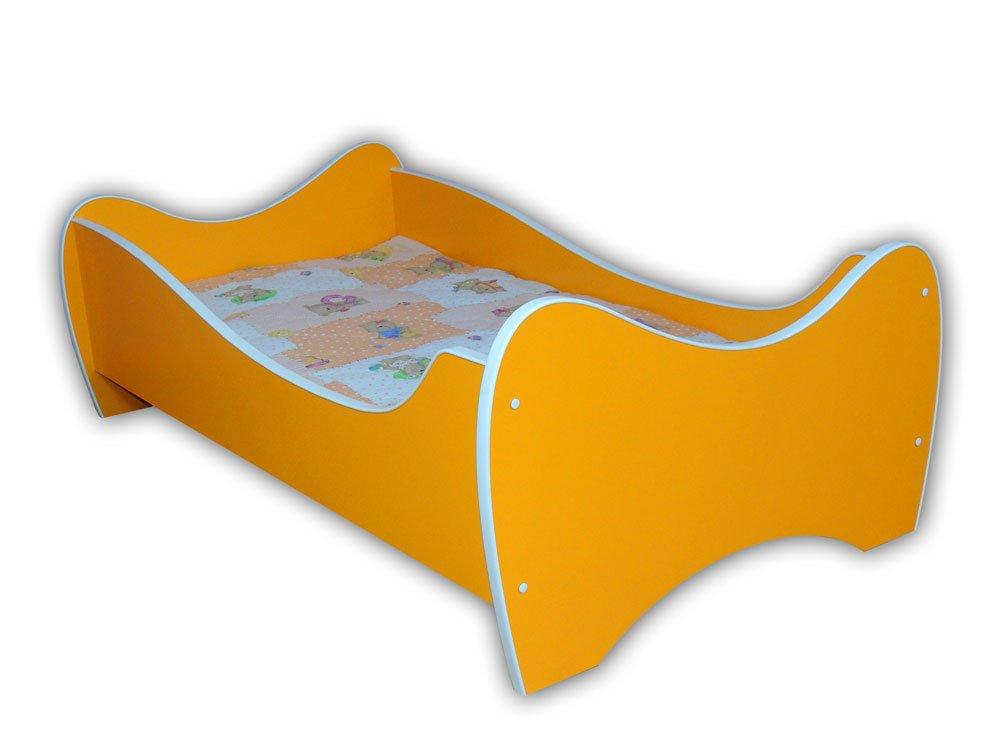 Centro comercial profesional integrado en línea. Promoción por tiempo limitado Cama infantil para para para bebé, 140 x 70 cm + colchón  Esperando por ti