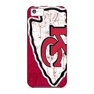 CassidyMunro Iphone 5c Protective Hard Phone Cover Provide Private Custom Lifelike Kansas City Chiefs Image [ABz26306SyQD]