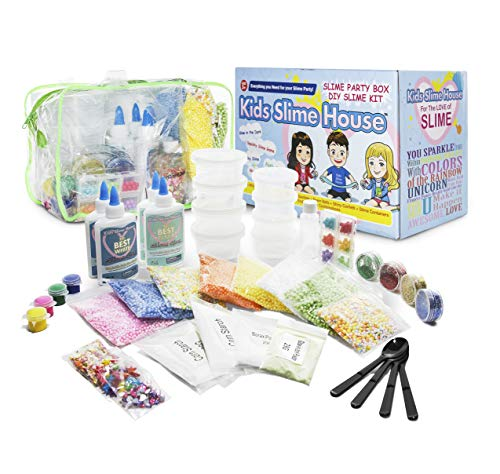 Slime KIT with All Slime Supplies Makes Fluffy