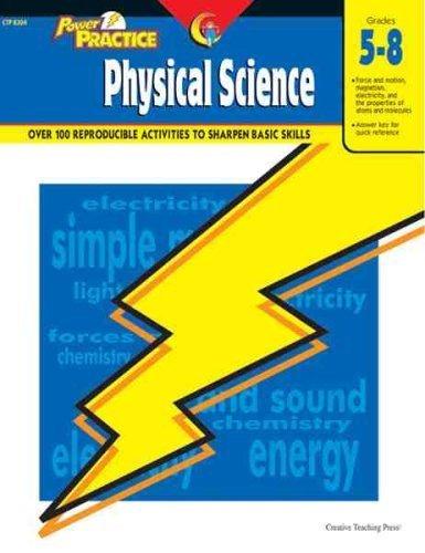 Power Practice: Physical Science, Gr. 5-8 by Jennett, Pamela (2004) Paperback