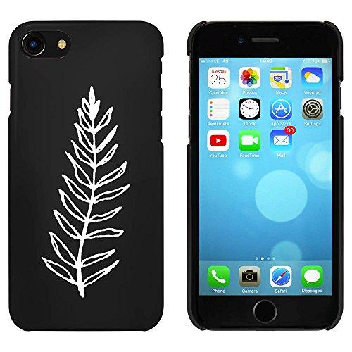 Noir 'Feuilles' étui / housse pour iPhone 7 (MC00070493)
