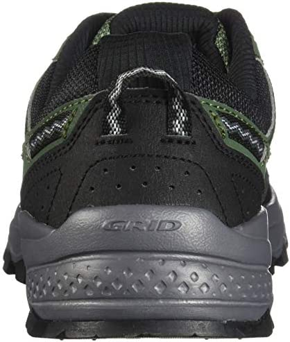 51F0WMSQbqL. AC Saucony Men's Excursion TR12 Sneaker    Rugged, durable, and good looking – the mesh upper with supportive overlays locks your foot into place, while the trail-tested outsole with triangular lug pattern will keep you from slipping ImportedRubber soleShaft measures approximately low-top from archGRID CushioningDurable rubber outsoleTrail Specific Mesh