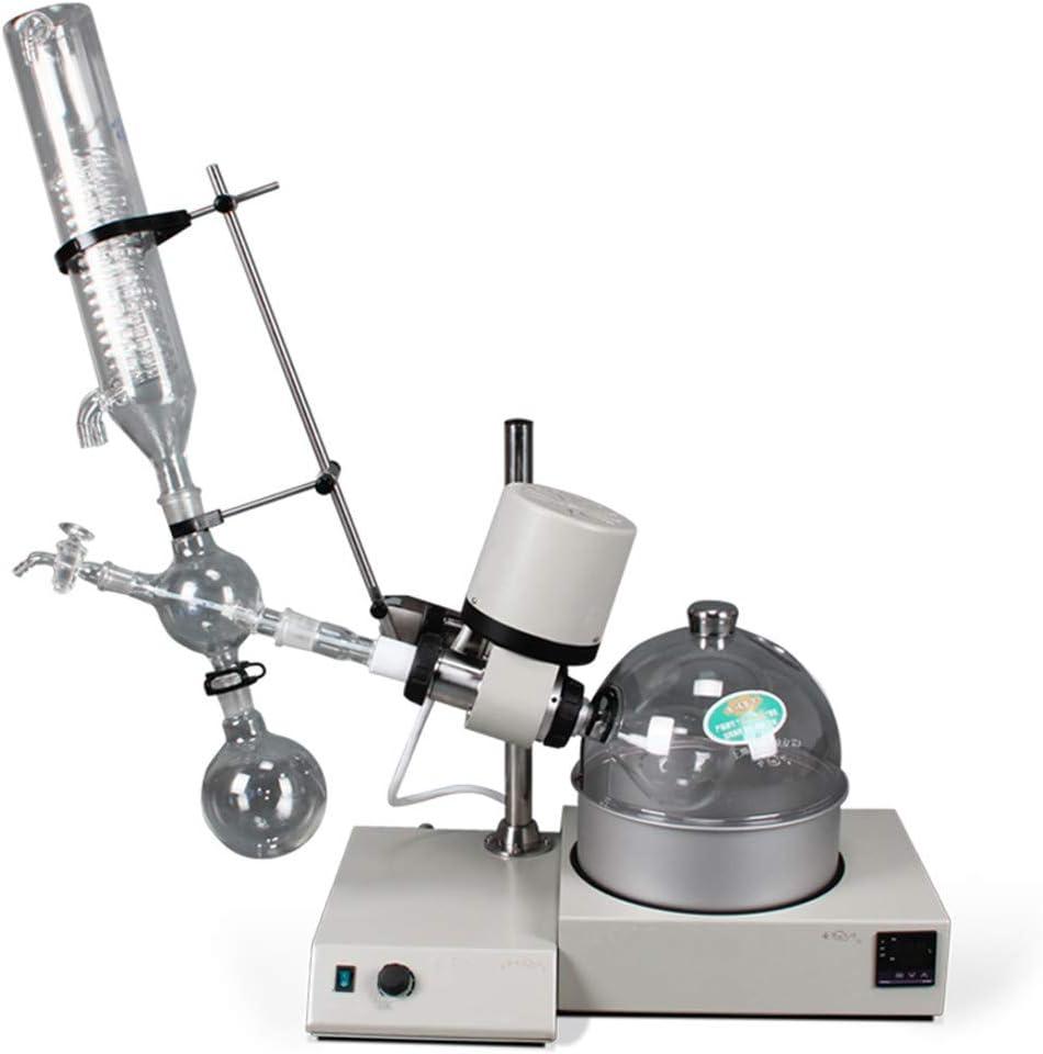 Rotary Evaporator 250-2000mL 0.25-2L Vertical Condenser RE-CS52-1