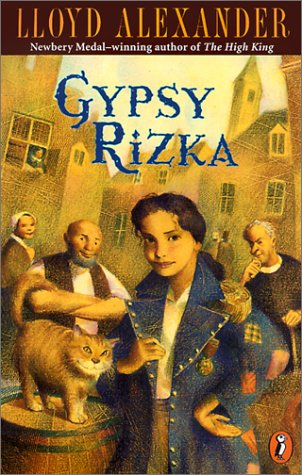 book cover of Gypsy Rizka