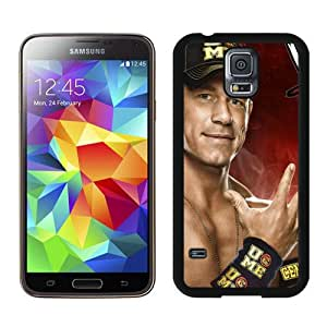 Unique Samsung Galaxy S5 I9600 Case ,Popular And Durable Designed With WWE John Cena Black Samsung Galaxy S5 I9600 Cover