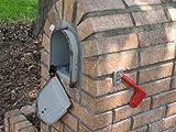 """6 1/4 Inch (Width) RetroFit """"Snap-In"""" Mailbox Door Replacement - Black"""