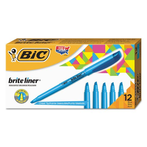 Corp Brite Highlighter Chisel Fluorescent