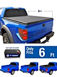 1996 ford ranger tonneau cover - Tyger Auto TG-BC1F9025 TOPRO Roll Up Truck Bed Tonneau Cover 1982-2013 Ford Ranger; 1994-2011 Mazda B-Series Pickup | Styleside 6' Bed