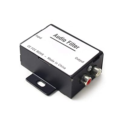 Car Audio Noise Isolator Filter Radio Noise Eliminator for Auto Truck Boat Speakers Amplifier Equalizer RCA Signal: Car Electronics