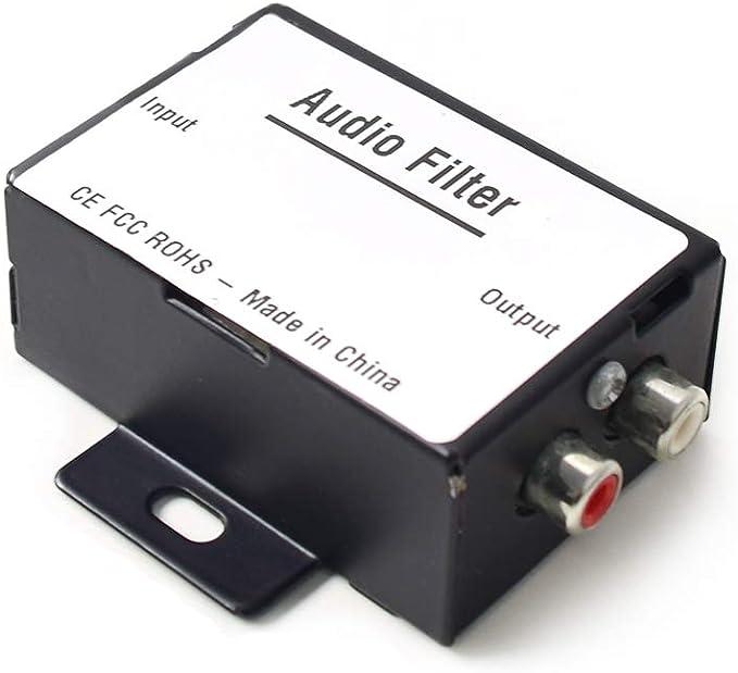 Auto Kfz Audio Geräuschisolator Entstörfilter Radio Noise Eliminator Filter Massefilter Rauschunterdrücker Für 12v Auto Truck Boat Lautsprecher Verstärker Equalizer Cinch Signal Auto