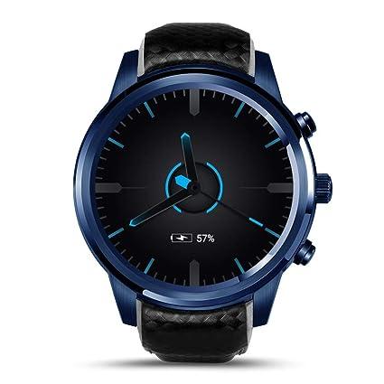 Amazon.com: Redcolorful 5.1 Smart Watch,LEMFO LEM5 Pro ...