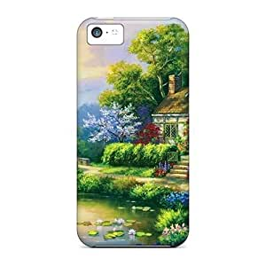 Tpye Spring Patio For Iphone 5c PC iphone Pretty Iphone Cases Covers covers protection miao's Customization case