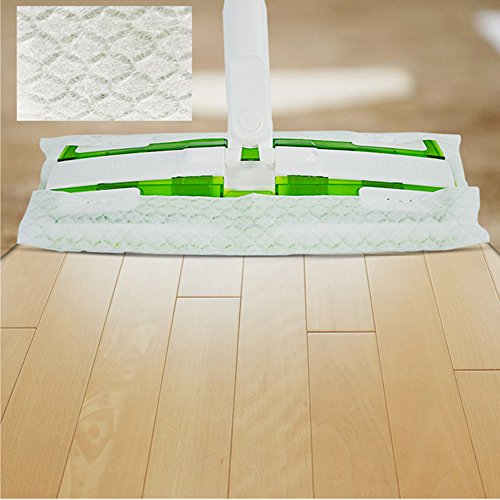 Jebblas Mop Cloths Disposable Refills Dry Sweeping Pad Refills for Floor Mop Hardwood Floor Mop Cleaner Cloth Refill, Unscented,240 Count Dry Cloths by Jebblas (Image #1)