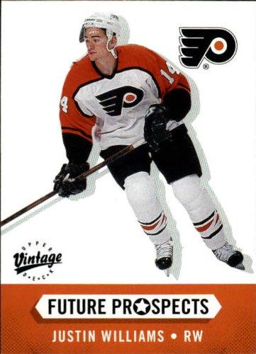 2000 Upper Deck Vintage Hockey Rookie Card (2000-01) #389 Justin Williams Near Mint/Mint