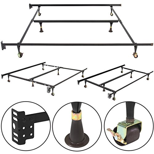 metal-bed-frame-adjustable-queen-full-twin-size-w-center-support