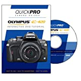 Olympus E-420 Instructional DVD by QuickPro Camera Guides