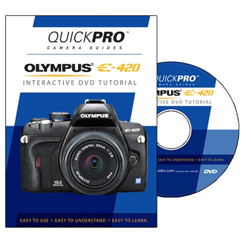 Camera Guides Quickpro - Olympus E-420 Instructional DVD by QuickPro Camera Guides