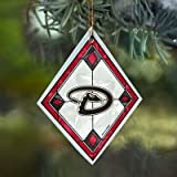 Arizona Diamondbacks Stained Glass Ornament