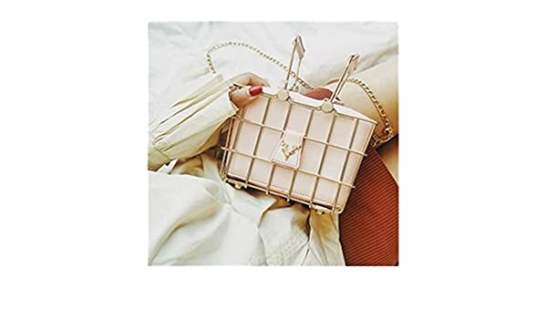 Amazon.com  Retro Elegant Deer Head Metal Basket Style Black Pu Leather  Ladies Handbag Totes Women S Purse Shoulder Bag Pink  Shoes c6b3090bafbb