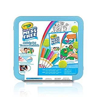 Crayola Color Wonder Mess Free Art Kit, Mess Free Colouring, Washable, No Mess, for Girls and Boys, Gift for Boys and Girls, Kids, Ages 3, 4, 5,6 and Up, Summer Travel, Cottage, Camping, on-the-go, Arts and Crafts, Gifting (B01LX3NJO8) | Amazon price tracker / tracking, Amazon price history charts, Amazon price watches, Amazon price drop alerts