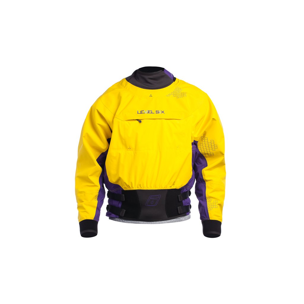 Level Six Nebula Long sleeve Dry Top,Bright Yellow,Small by Level Six