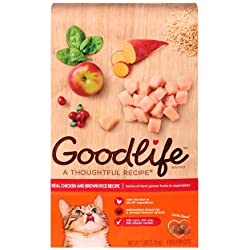 Goodlife Real Chicken Recipe Dry Cat Food 7 lbs. Bag