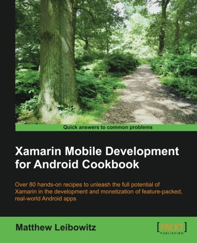 Download Xamarin Mobile Development for Android Cookbook PDF